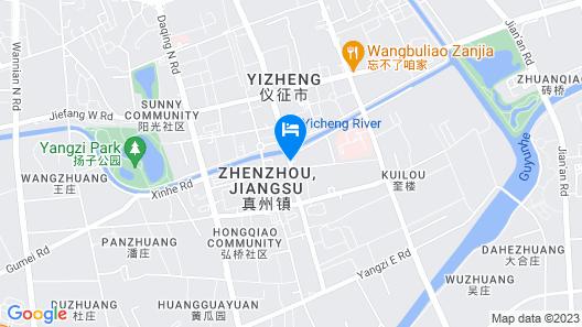 Hanting Hotel - Yizheng Map