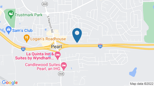 Holiday Inn Express & Suites Jackson / Pearl Intl Airport, an IHG Hotel Map