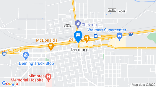 Hampton Inn Deming Map