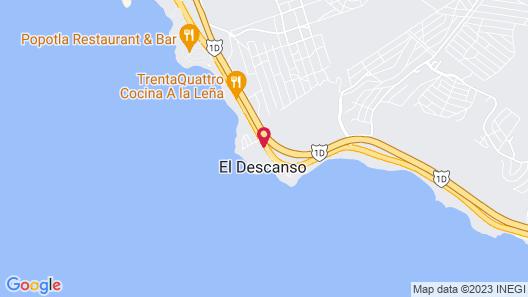 HOTEL CALAFIA ROSARITO Map