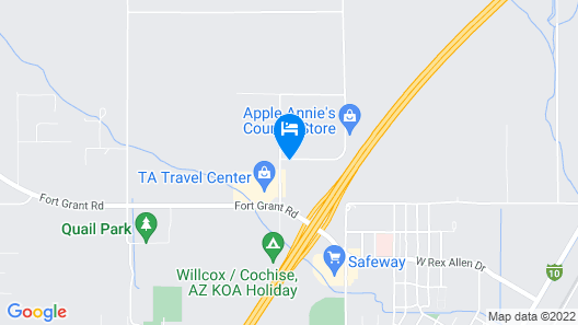 Holiday Inn Express & Suites Willcox, an IHG Hotel Map