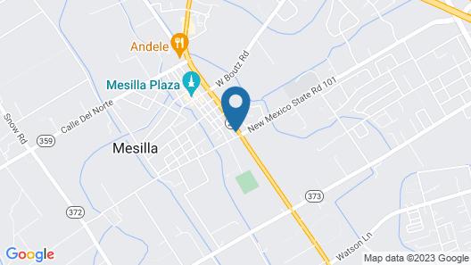Sweet Studio Apartment in Mesilla, NM Map