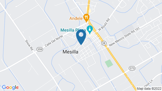 Charming Casita in Historic Town of Mesilla, NM 2392 Calle de Parian Map