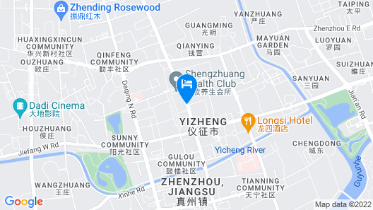 Super 8 Hotel Yizheng Map