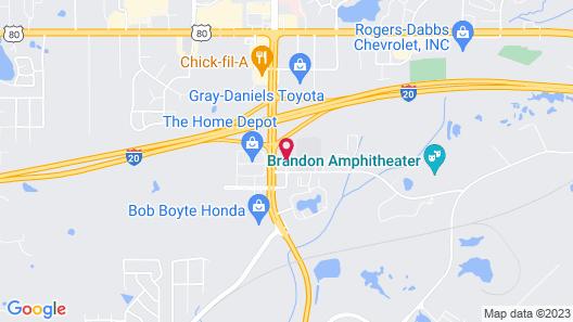 La Quinta Inn & Suites by Wyndham Brandon Jackson Airport E Map