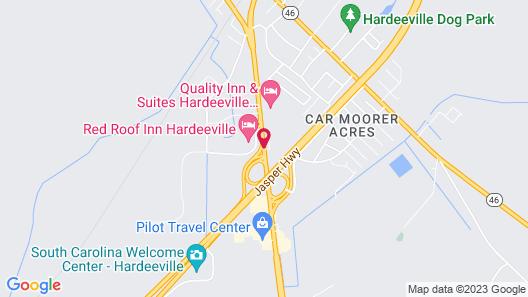 Best Western Plus Hardeeville Inn & Suites Map