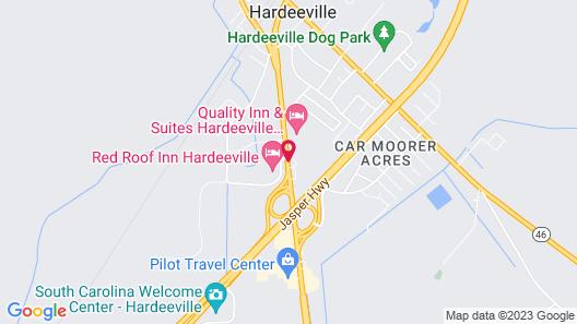 Travelodge by Wyndham Hardeeville Map