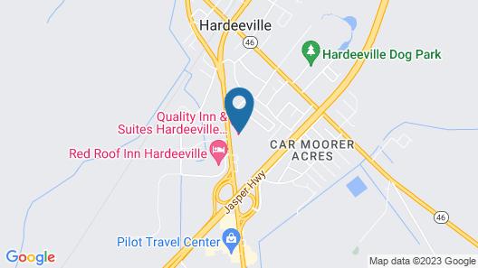 Quality Inn & Suites Hardeeville - Savannah North Map