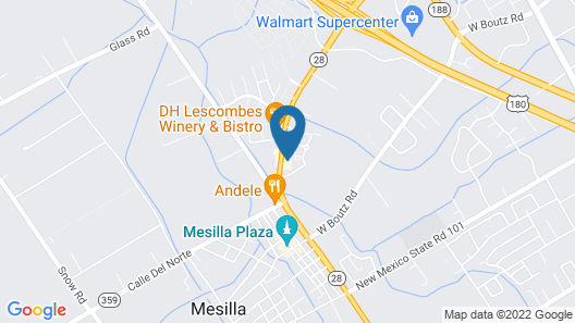 Hotel Mesilla Map