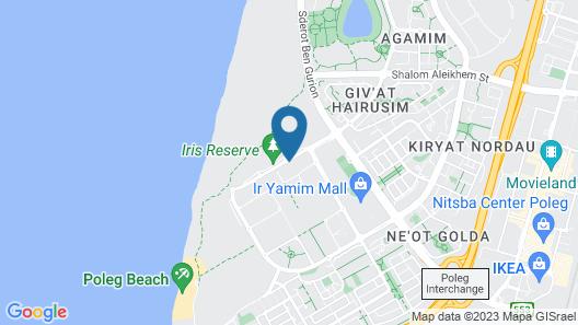 Prince Palace Netanya Beach Royal Resort Map