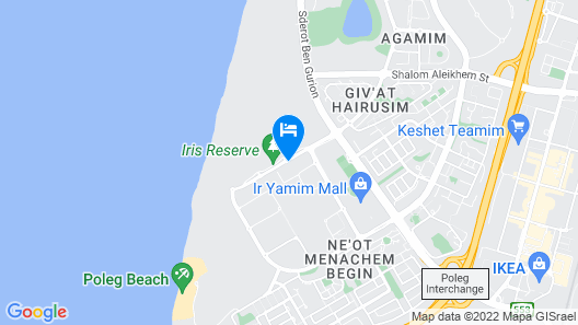 Prince Palace Netanya Beach Royal Resort Map