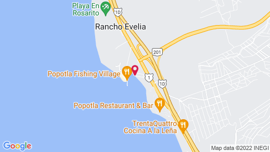 Baja Grand Hacienda  Map