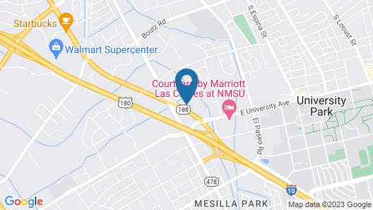 Super 8 by Wyndham Las Cruces/La Posada Lane Map