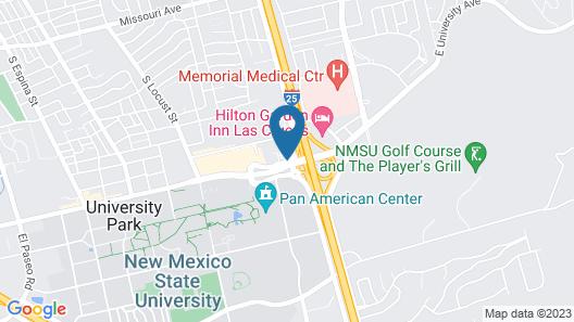 Comfort Suites University Las Cruces Map