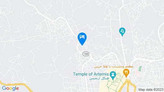 Jerash Inn Map