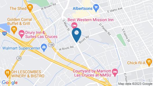 Best Western Mission Inn Map
