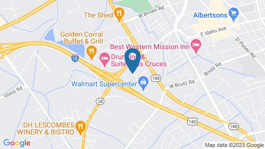 La Quinta Inn & Suites by Wyndham Las Cruces Organ Mountain Map