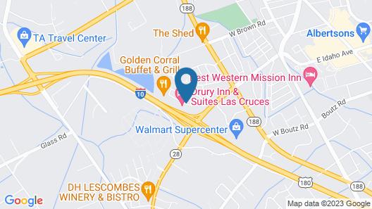 Drury Inn & Suites Las Cruces Map