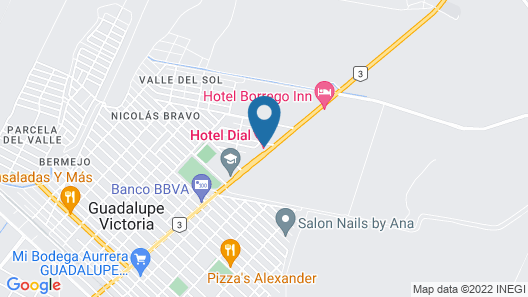 Hotel Dial Map