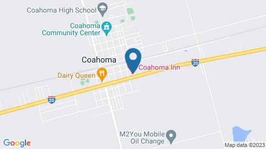 Coahoma Inn Map