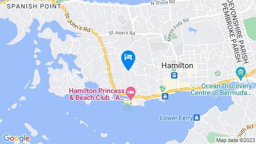 Royal Palms Hotel Map