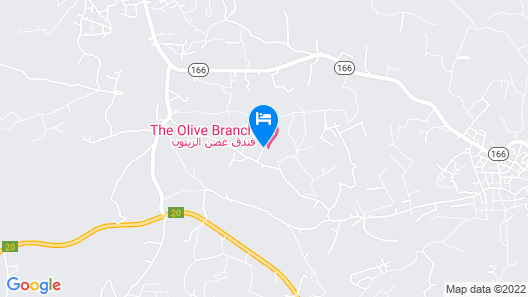 The Olive Branch Hotel Map