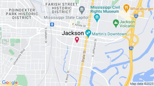 The Westin Jackson Map