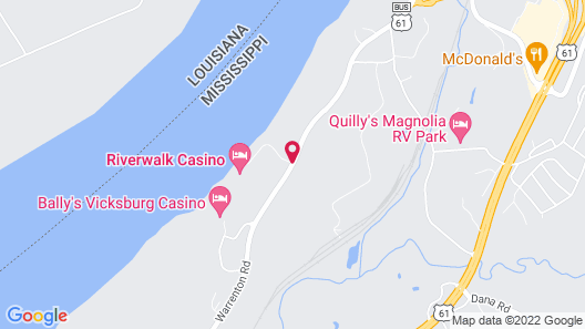 Riverwalk Casino Hotel Map