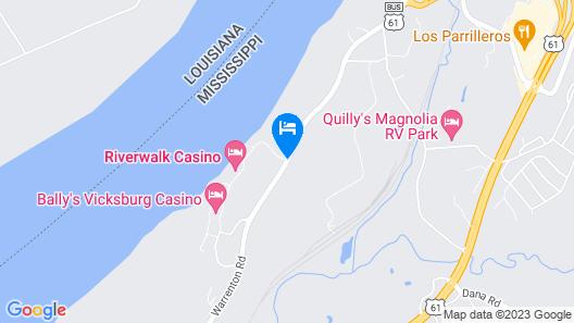 Riverwalk Casino Hotel Map