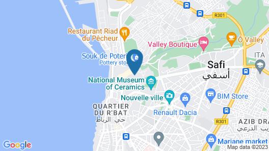 Riad Safi Map