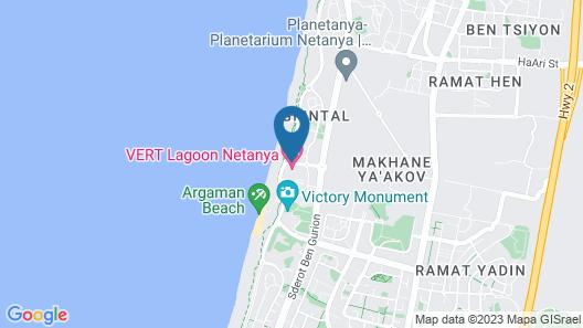 Vert Lagoon Netanya Map