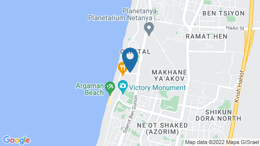 Nat 600 Beach-Luxury Appartment Map