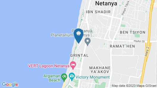 Sea Breeze Apartmens Map