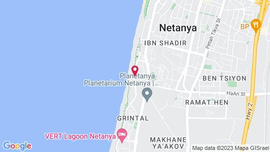 Ramada Hotel & Suites by Wyndham Netanya Map