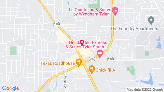 Homewood Suites by Hilton Tyler Map