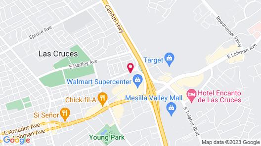 Hampton Inn & Suites Las Cruces I-25 Map
