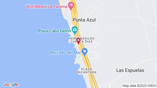 Hotel Castillos del Mar Map