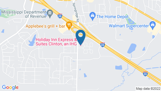 Holiday Inn Express Clinton, an IHG Hotel Map