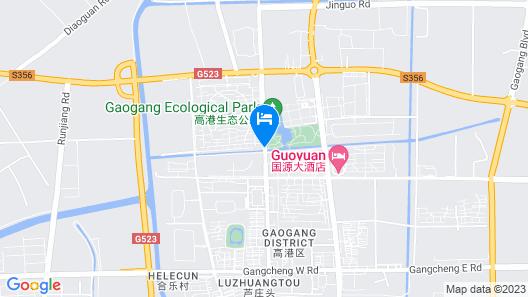 GreenTree Inn Taizhou Gaogang District Gov. Business Hotel Map