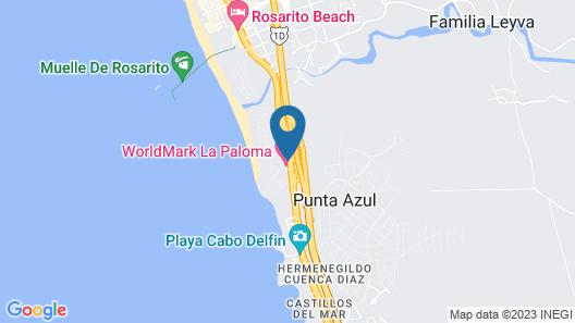 WorldMark La Paloma Map