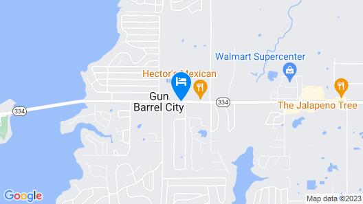 Gun Barrel Executive Inn Map