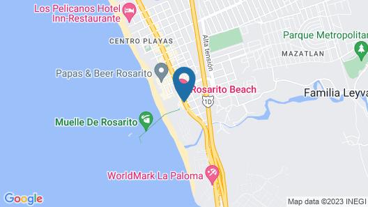 Rosarito Beach Hotel Map
