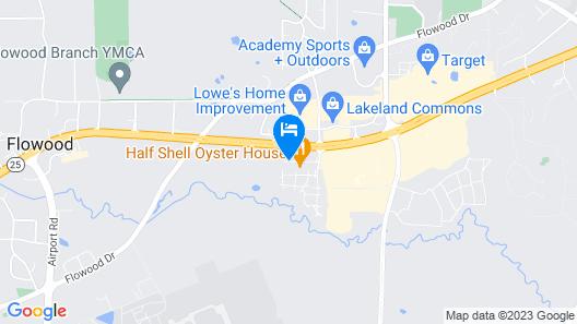 Hilton Garden Inn Jackson/Flowood Map