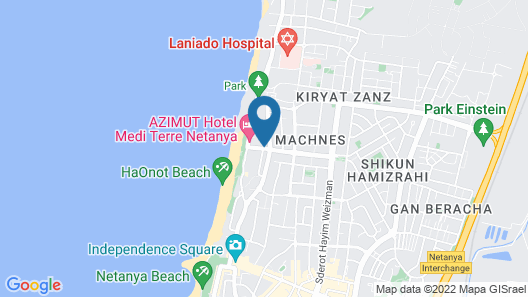 The Seasons beach family Apartment Map