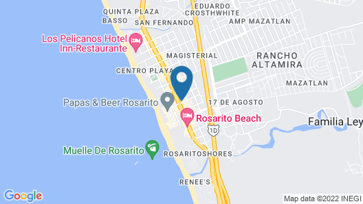 Hotel Baja del Sol Inn Map