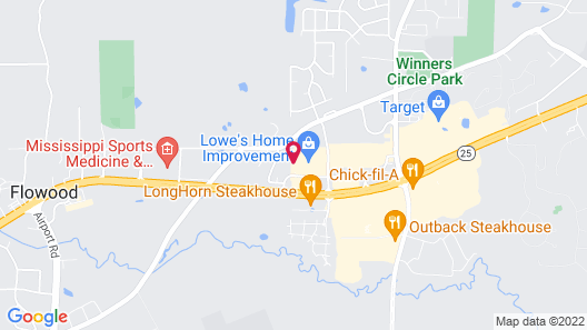 Holiday Inn Express & Suites Flowood Map