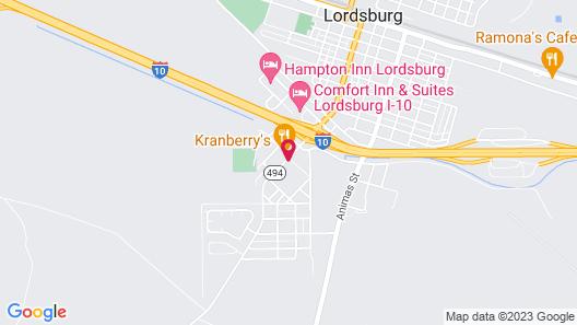 Econo Lodge Lordsburg I-10 Map