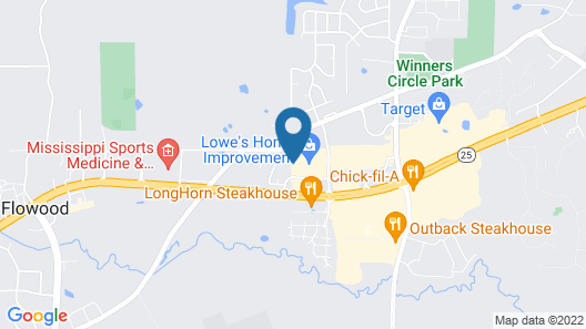 Holiday Inn Express & Suites Flowood, an IHG Hotel Map