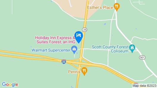 Days Inn by Wyndham Forest Map