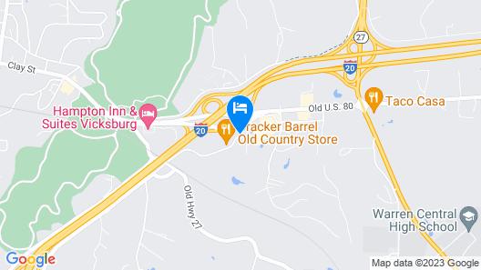 La Quinta Inn & Suites by Wyndham Vicksburg Map